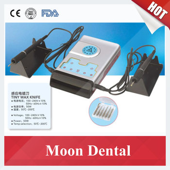 Dental Lab Instrument Tiny Sensor Induction Wax Knife with 6 Tips for Dental/Jewelry/Industry 110V/220V