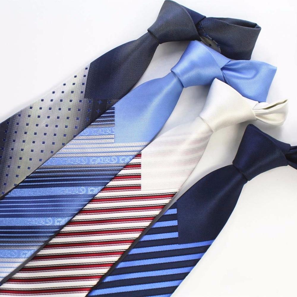 Ricnais Herren Krawatten New Man Fashion Krawatten Corbatas Hombre - Bekleidungszubehör