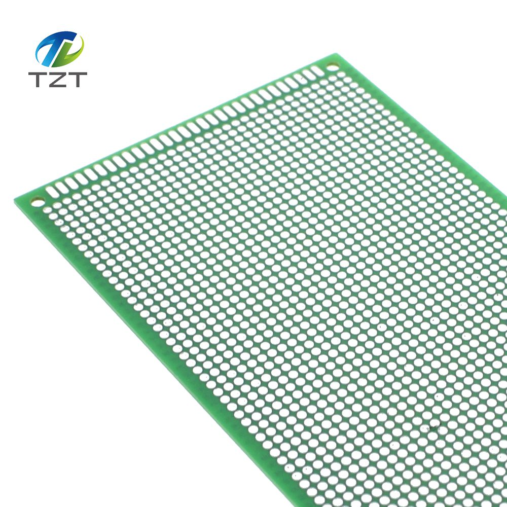 5pcs 915 9x15 Cm Single Side Prototype Pcb Universal Board Copper About Copperfibergl Ass Circuit Experimental Plate Circuirt Hole Bread Green In Integrated Circuits From Electronic