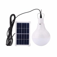 White 3 7V 1800mA LED Light Camping Solar Energy Bulb Traveling Hiking Outdoor Portable Power Charged