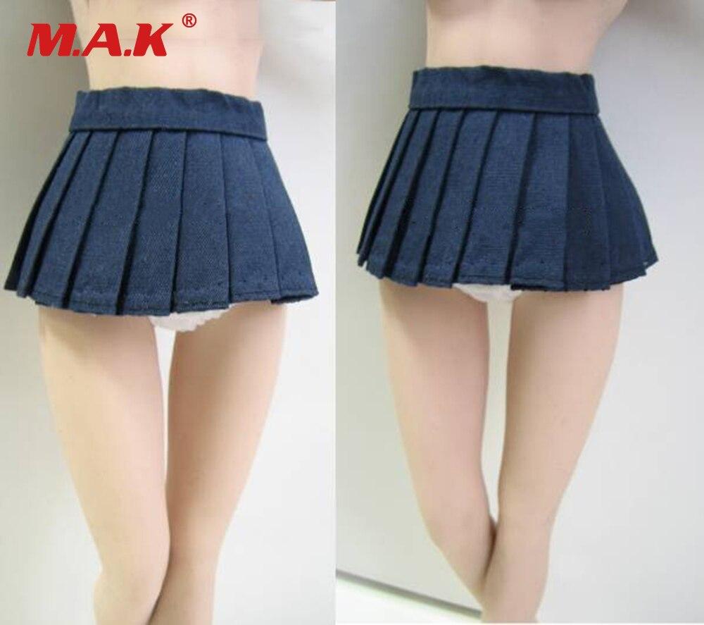 1//6 Scale Sling Dress Lace Mini-skirt for 12/'/' Phicen Kumik Hot Toys Black