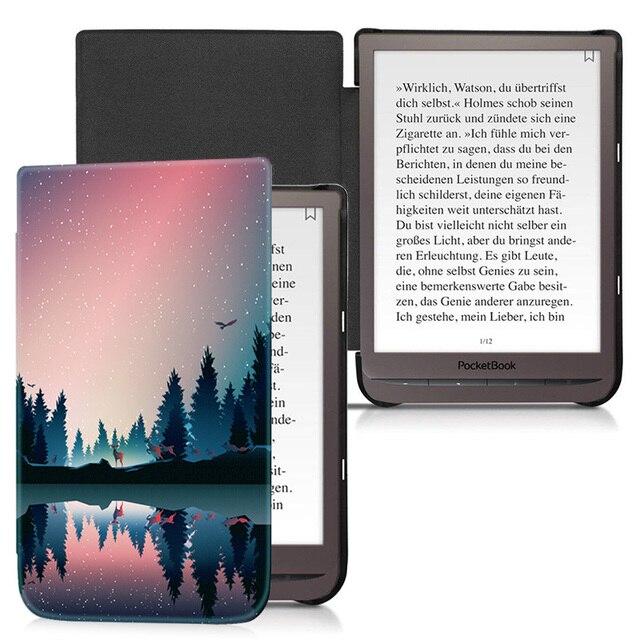 Étui AROITA pour 7.8 pouces PocketBook 740 InkPad 3 e Book (modèle PB740), couverture de coque intelligente de mode légère avec