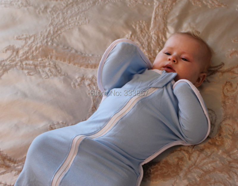 Sigzagor-1-Baby-Sleepsack-Zip-Up-Swaddle-Sleeping-Bag-Cotton-3-Sizes-3kg-11kg6lbs-24lbs-Grey-Pink-Blue-White-7-Choices-3