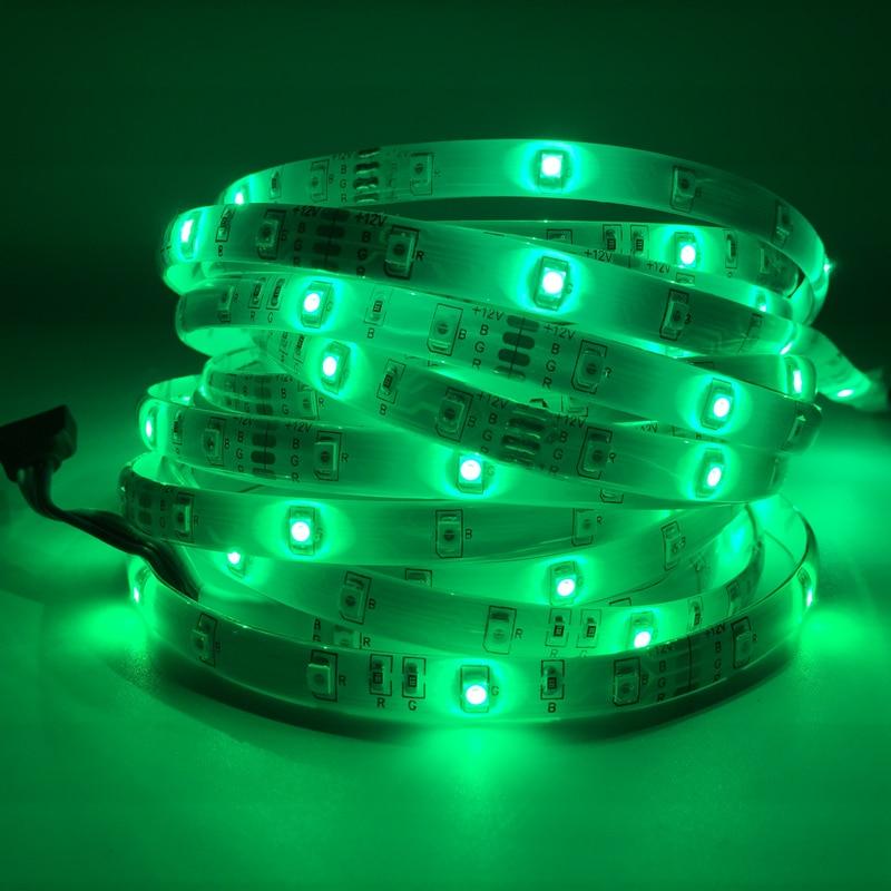 5M / Roll RGB LED Жарық диодтары 3528 SMD 300LEDs 60LEDs - LED Жарықтандыру - фото 2