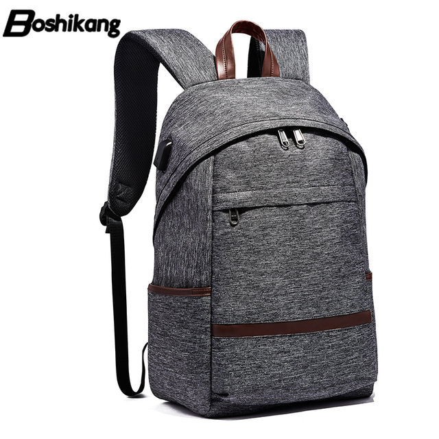 Boshikang Anti-Thief USB Men Backpack 15.6inch Laptop Backpack For Men  Fashion School Backpack Bag For Boy Girls Male Travel Bag 171dde4449