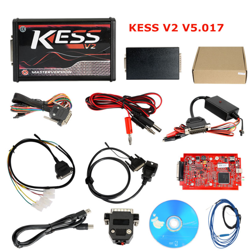 Kess V2 OBD2 ECU Chip Tuning Tool Ktag V2.23 Newest Version BDM100 Programmer and Bdm Frame With Adapter