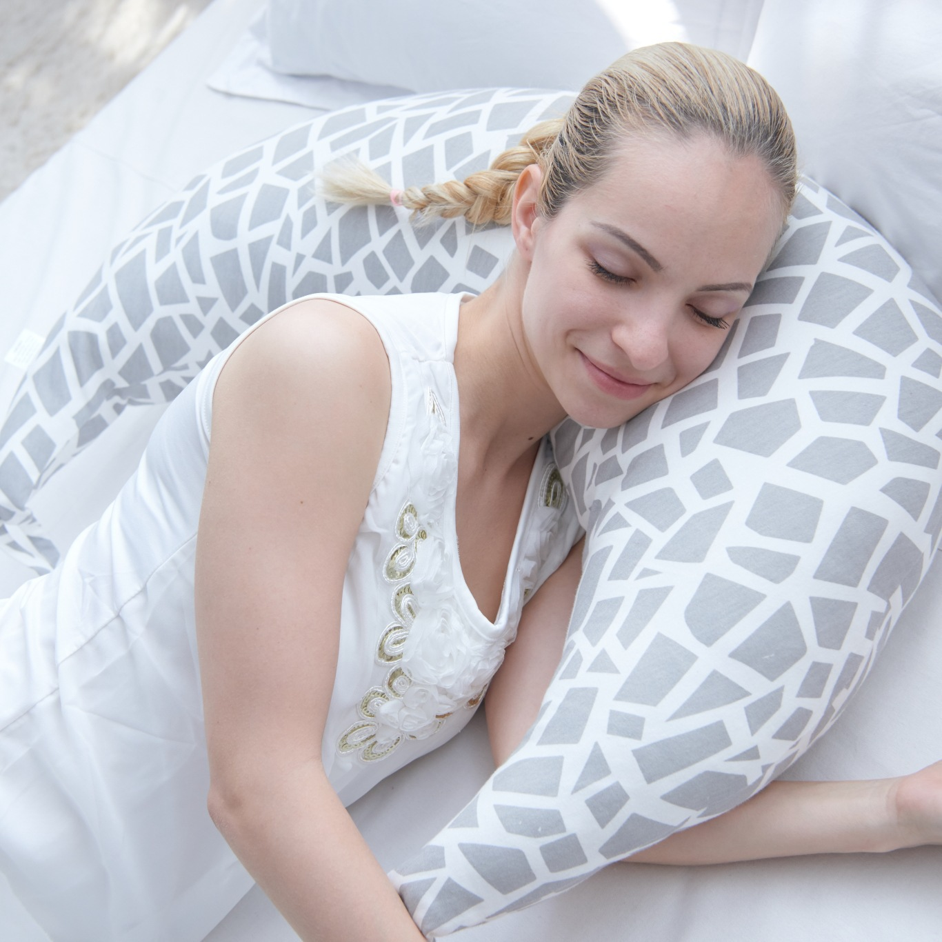 Moon Shape Pillow Baby Multifunction Nursing Pillow Adjust Infant Breastfeeding Pillow Baby Protect Mummy Waist Support Cushion цена