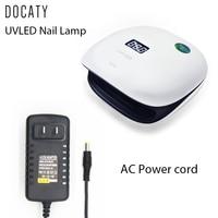 Docaty 48W Sun4 Nail Dryer UV LED Lamp 36 Leds Fast Curing Nail Polish Gel Drying Lamp for Gel Varnish Primer for Nails