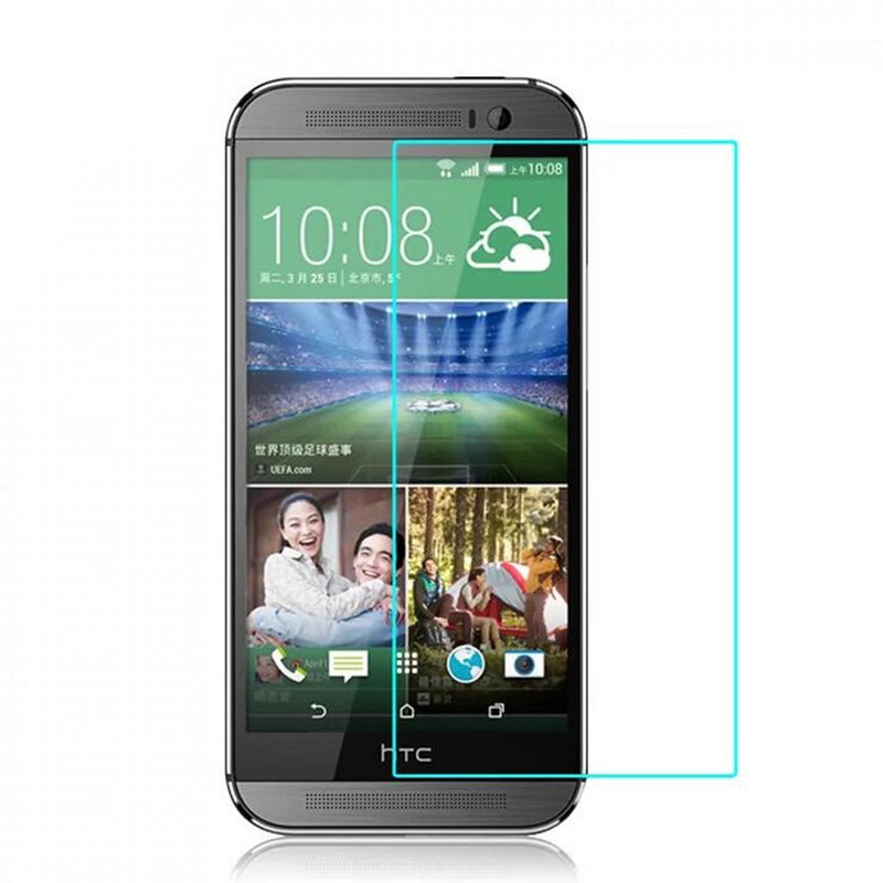 For HTC Desire 310 D320 620 626 816 820 826 Dual Sim Tempered Glass Film 9H Protective Screen Protector with Clean Tools