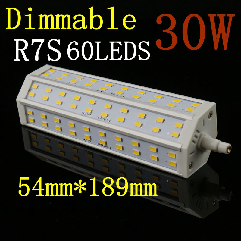 r7s dimmable lamp 7w 11w 15w 18w 20w 23w 25w 30w led bulb 15 21 24 30 36 45 48 60leds 5730 smd. Black Bedroom Furniture Sets. Home Design Ideas