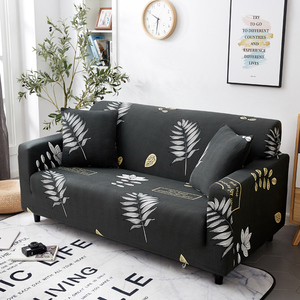 Image 3 - Parkshin Fashion Leaf Slipcovers Sofa Cover All inclusive Sectional Elastic Full Couch Cover Sofa Towel 1/2/3/4 Seater