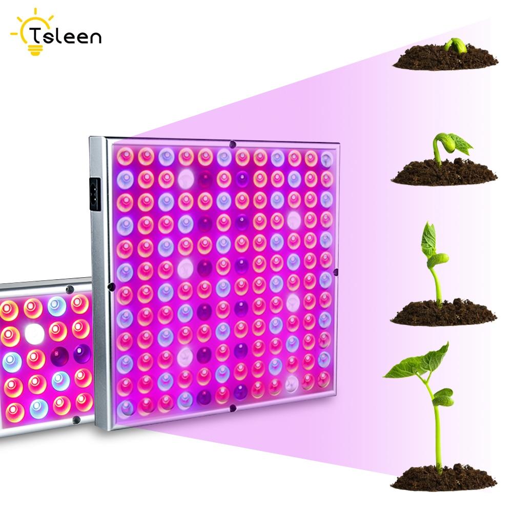 LED Grow Light 24W 45W 75LEDS 114LEDS AC 85~265V SMD 2835 Full Spectrum For Indoor Greenhouse Grow Tent Plants Grow Led Light