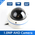 720P 1.0MP Fisheye AHD Camera 1080P Outdoor Dome With IR-CUT,Full 180/360 Degree View Angle Security CCTV Camera 2MP Waterproof