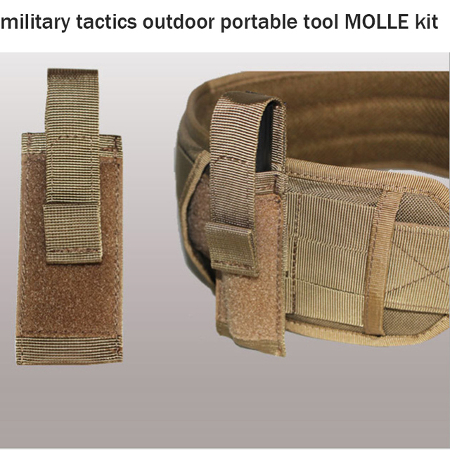 Army Military Tactical outdoor portable tool MOLLE kit 1000D waterproof quick-drying wear-resistant tactical vest accessories ta