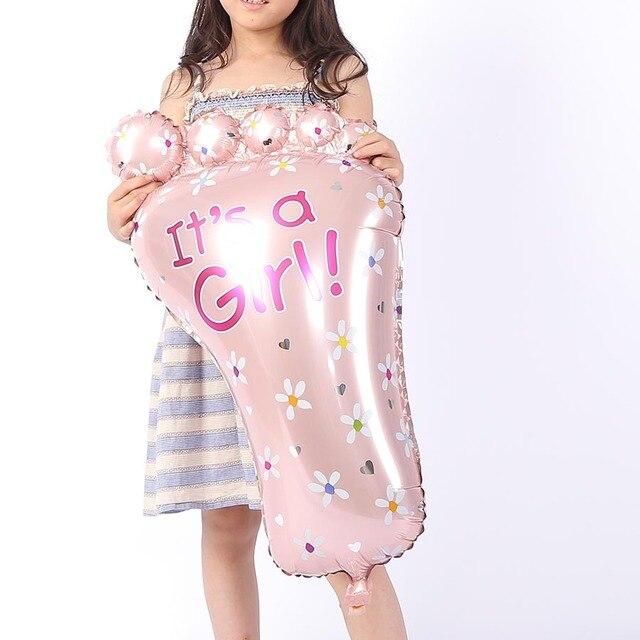 Tienda Online IDEA de fantasa Rosa Pies Globo Bbirthday Partido
