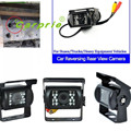 Auto car-styling  18 LED Anti Fog IR Night Vision Waterproof Car Rear View Reverse Backup Camera car styling Feb24