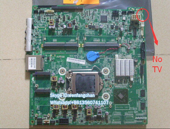 Frete grátis B320 CIH61S motherboard M7101z PIG41F 100% Testado sem TV