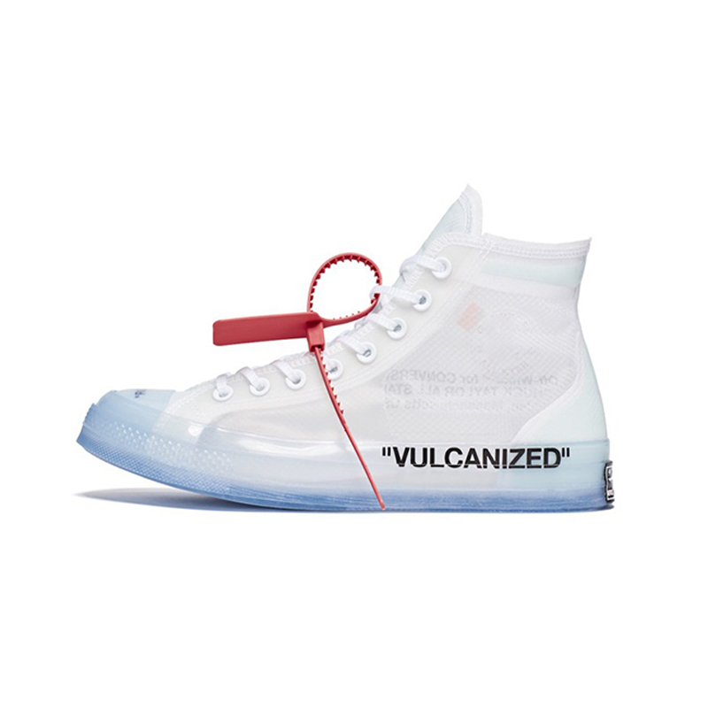 Male white designer shoes all transparent star sport unisex sneakers chuck high-top taylor x 1970s men off white vulcanize shoes