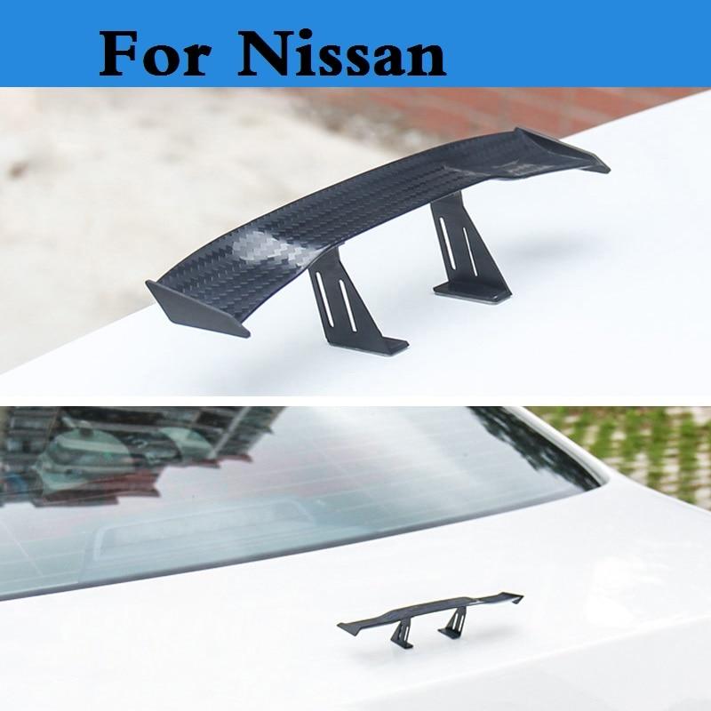 Автомобильный спойлер, мини задняя наклейка на крыло для Nissan 350z 370z Ad Almera Classic Altima Armada Avenir Juke Nismo, 2019