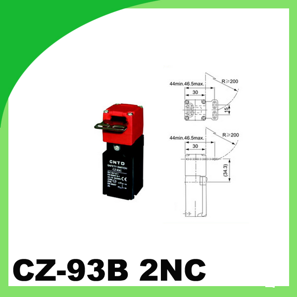 Safety door switch Limit switch Micro switch CZ-93B 2NC micro switch tm 1743 high temperature resistence switch limit switch travel switch