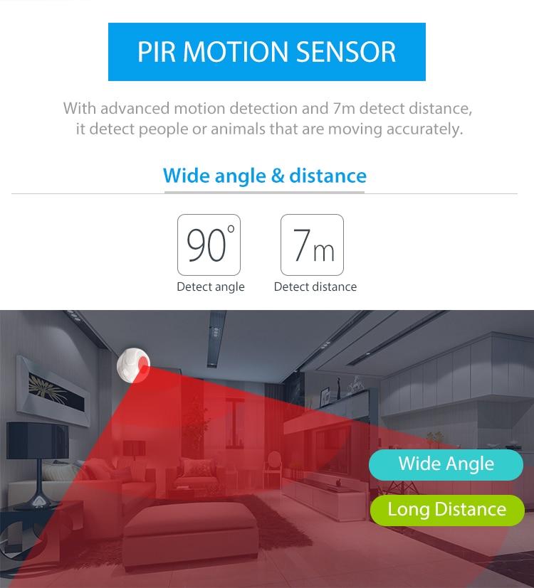 TUYA Smart Home Video Alarm Kit Concluding 720P Cameras 3 sensors 1 Siren Alarm All Support Wifi with SmartLife TUYA Smart APP_F09
