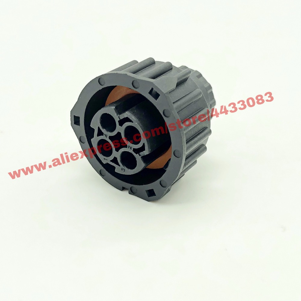 1 sets 4 pin tyco round HOWO A7 odometer speed sensor plug sealed auto connector 1-967325-1 (6)