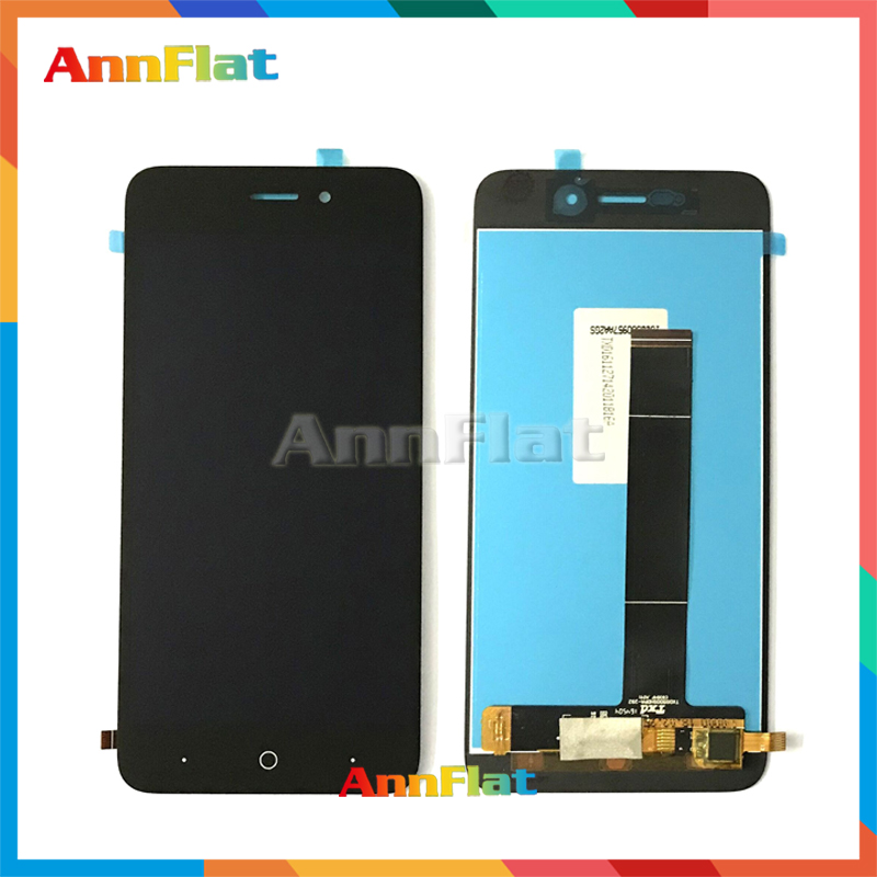high quality 5.0'' For <font><b>ZTE</b></font> <font><b>Blade</b></font> <font><b>A601</b></font> BA601 LCD Display <font><b>Screen</b></font> With Touch <font><b>Screen</b></font> Digitizer Assembly Free shipping image