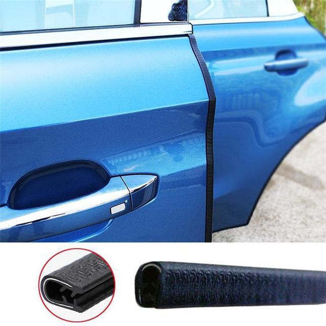 Car Door Edge Scratch Protector Strip Rubber 5M/10M Guard Trim Automobile Door Stickers Sealing Strip Sticker Car-styling
