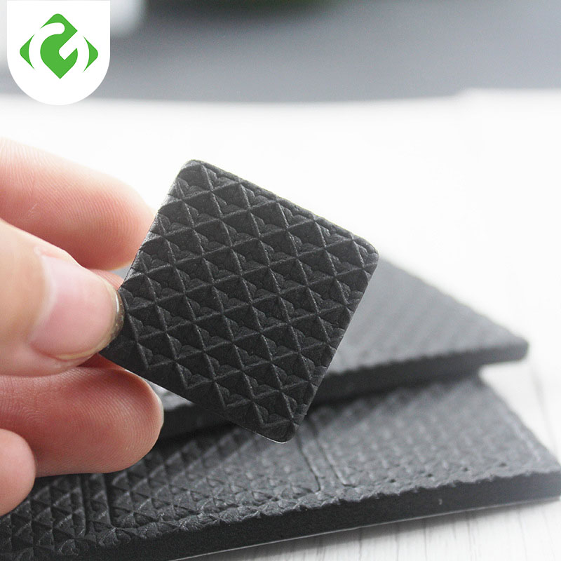 Furniture Legs Anti-slip Mat Felt Floor Protector Self-adhesive Carpet Chair Protection Cushion Slip Mat Bumper Damper For Chair