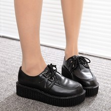 Women flats 2016 new fashion  creepers shoes
