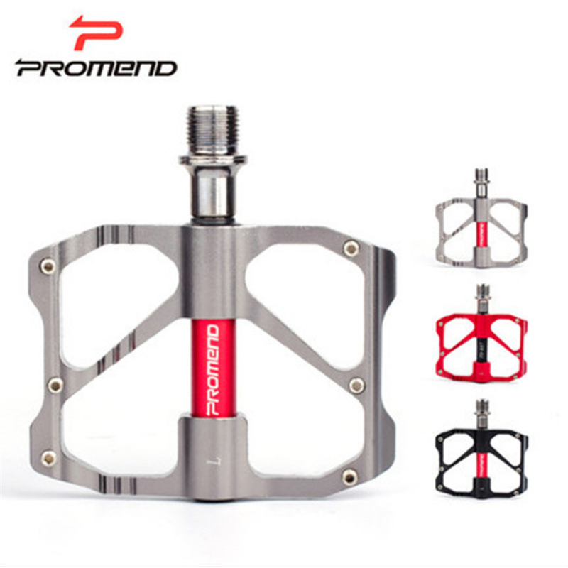 Brand 245g Cr-Mo Axle Ultra-light Bicycle Pedals CNC Magnesium Alloy Mountain Bike Pedals Road MTB 6 Bearings Alloy Body Black