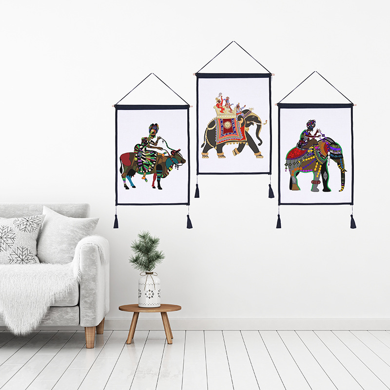 Creative hanging painting for living room wall decoration - Wall pictures for living room india ...