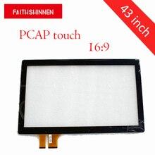 43 inch 16:9 multi-touch customized capacitive touch panel screen цена в Москве и Питере