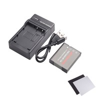 NP 130 Battery And Ultra Slim Micro USB Charger Kit For Casio Exilim ZR100 ZR200 ZR300