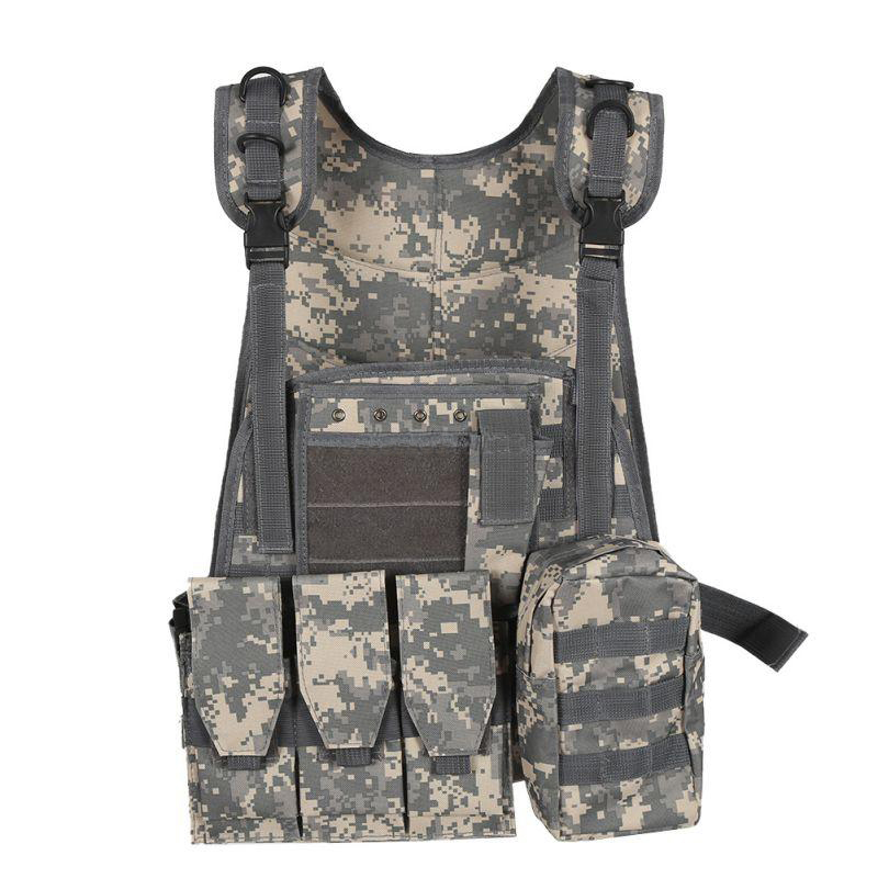 1pc Tactical Military Assault Plate Carrier Vest Waistcoat Airsoft Molle Combat Tactical Military Molle Combat Assault Life Vest|life vest|military life vest|vest life - title=