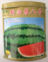 Fruit seeds A new hybrid national xinong 8 canned watermelon seeds can be planted 100 grams