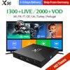 X96 Iptv Box 2G16G S905X Sky IT UK DE Android Europe Arab IPTV Box For Spain