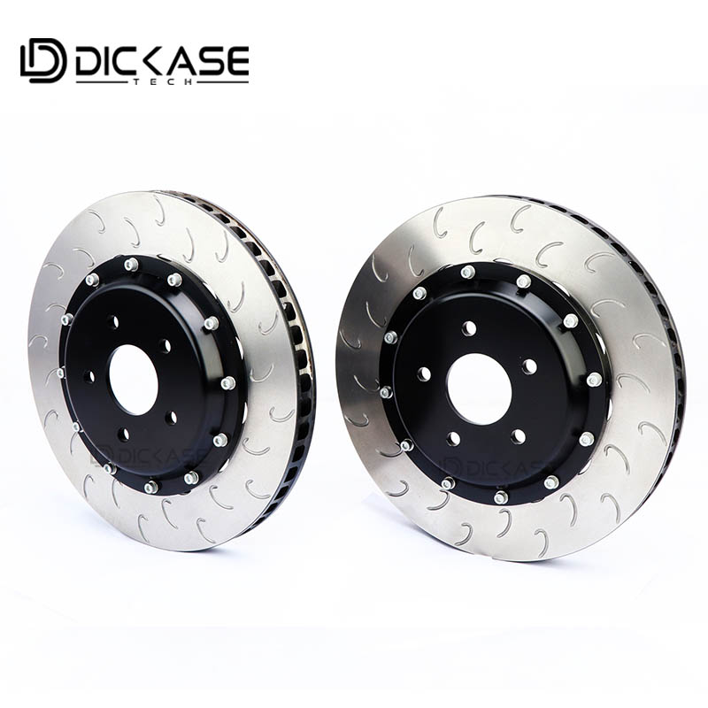 Dicase racing modified disc brake rotor for CP7040/CP9040 Six pistons brake caliper for BMW X5