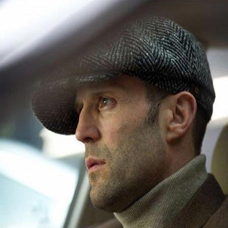 Newsboy Cap Cabbie Gatsby Berets Hat Mens Ivy Hat Golf Driving Summer Sun Flat Octagonal Cap