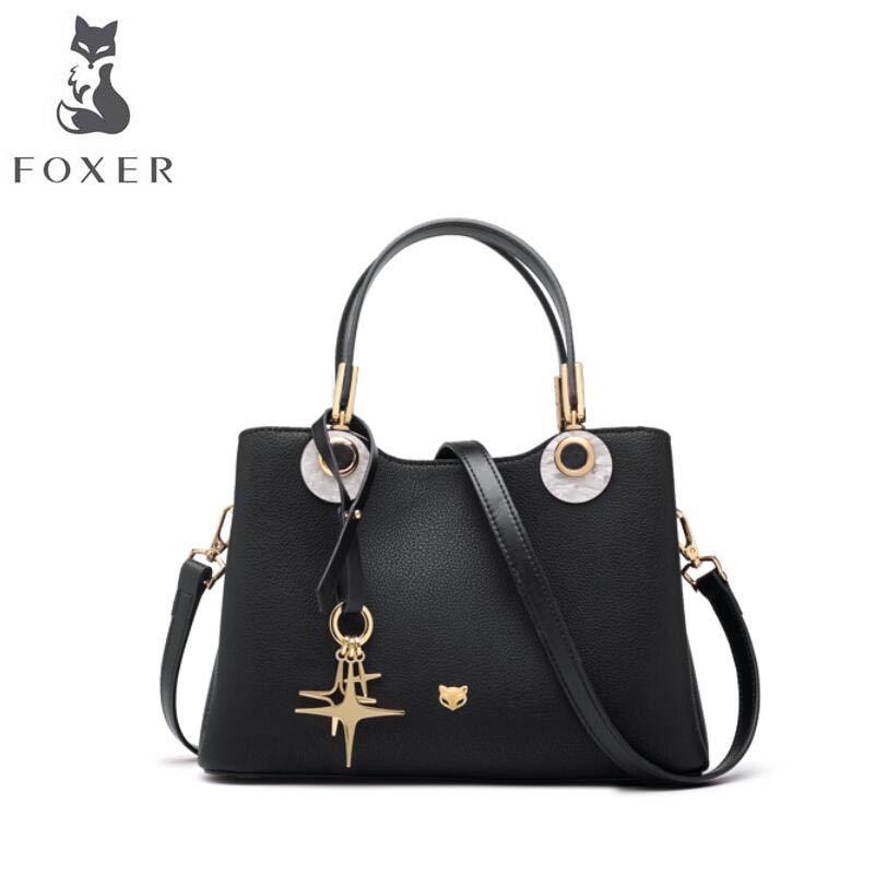 FOXER brand bag handbag 2018 new leather shoulder bag Simple wild Messenger Bag beep brand handbag 2018 new leather wild messenger bag simple handbag shoulder bag women bag