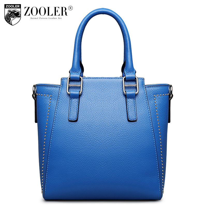 ZOOLER big sales hot genuine leather bag famous brand solid 100% cowhide top handle bag bolsa feminina#2655 купить