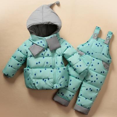 2017-Winter-Childrens-Clothing-Set-Kids-Ski-Suit-Overalls-Baby-Girls-Down-Coat-Warm-Snowsuits-Jacketsbib-Pants-2pcsset-0-5T-2