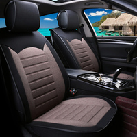 Universal flax car seat covers For Lexus ct rc rcf es gs lc lfa lexus ls nx rx 250 300 350 200