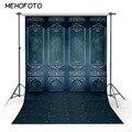 Старый темно-синий настенный Фотофон для фотостудии Ретро дверь художественный фотографический фон для фотографа