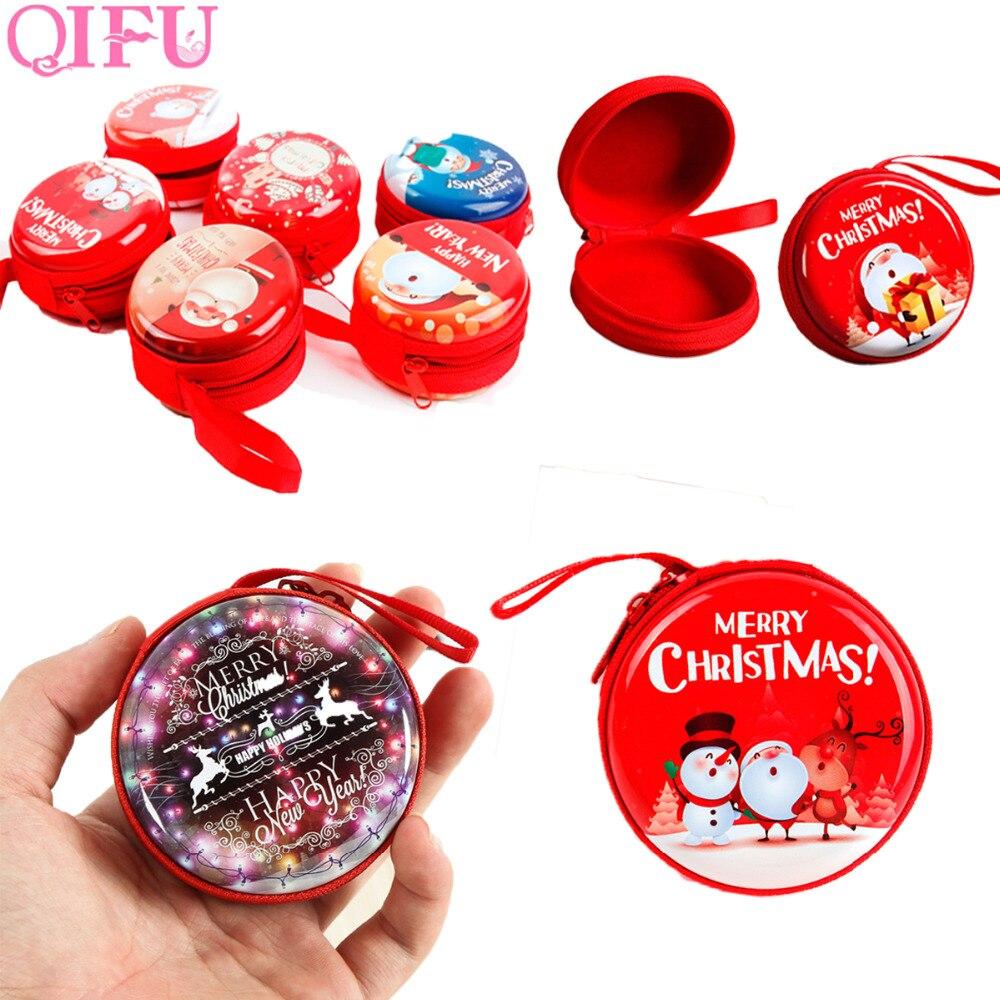 Christmas Items 2019 QIFU Merry Christmas Ornaments Christmas items Party Glasses Frame