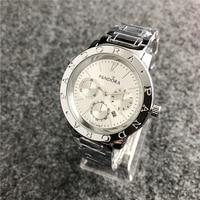 Pandora часы женские часы pandora браслет талисманы Серебро 925 оригинальные роскошные женские часы для женщин reloj mujer saat relogio