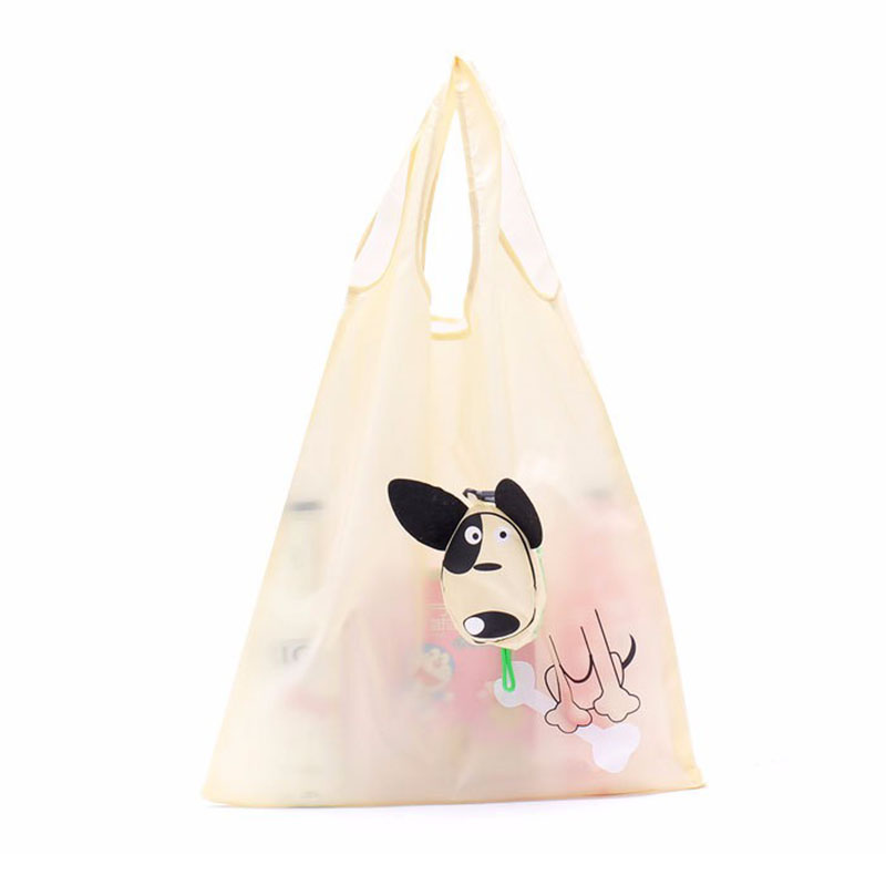 600pcs/lot Cartoon Tote Shopping Bag Monkey Cow Dog Foldable Shopping Bags eco Reusable  ...