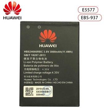 Hua Wei HB824666RBC Original Replacement Phone Battery For Huawei E5577 EBS-937 WIFI Router Li-ion Capacity 3000mAh