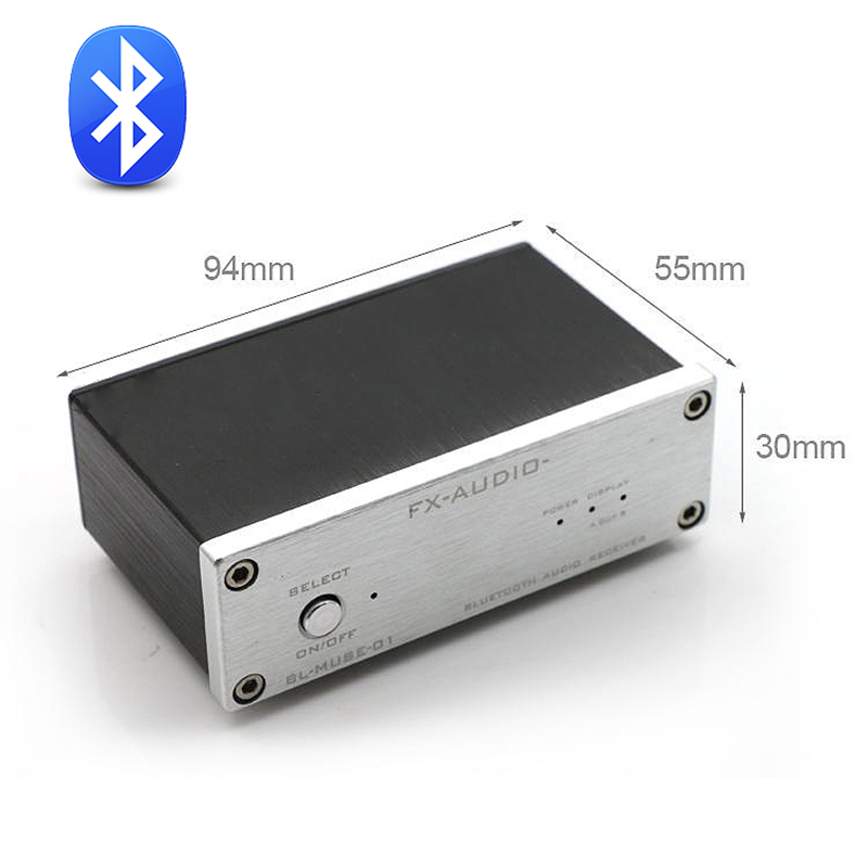 FX-Audio BL-MUSE-01 CSR 57E6 Receptor audio Hi-Fi Hi-Fi de ieșire Bluetooth RCA / coaxial / optică Amplificator digital DC12V / 1A