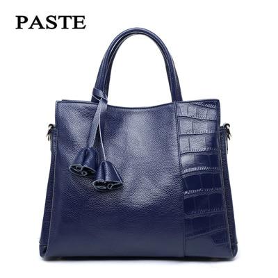 New 2017 Women leather Shoulder Bag Shell Bags Casual Handbags small messenger bag fashion 100 genuine